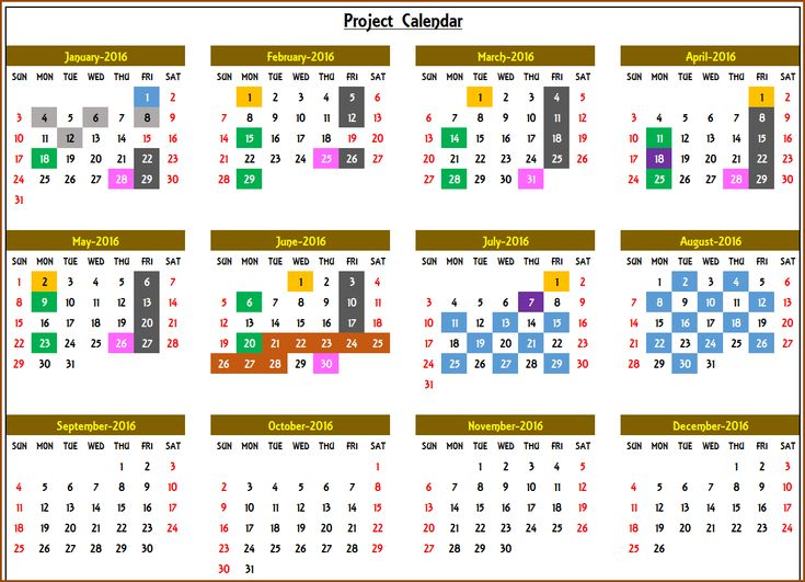 7 best event calendar excel template v3 images on for Annual calendar of events template