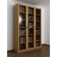 Современный большой книжный шкаф бук - Цена в Москве 15200 рублей