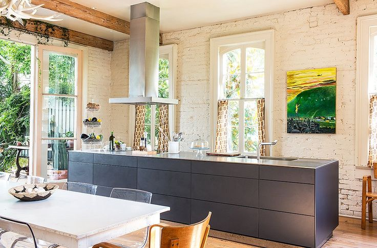 Sara Ruffin Costello's Home. Kitchen by Bulthaup