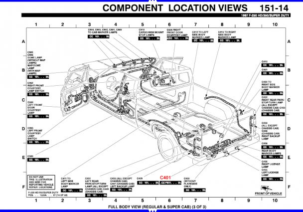 12 97 F150 Wiring Diagram Electrical Wiring Diagram F150 Diagram
