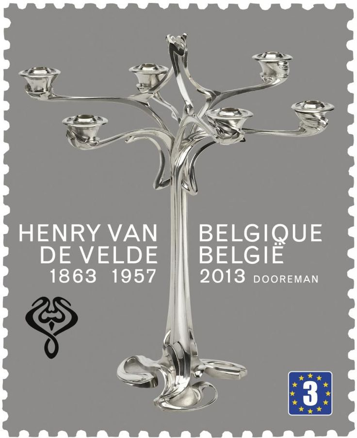 150 Best Images About Design Henry Van De Velde On Pinterest: 17 Best Images About Art Nouveau Stamps On Pinterest