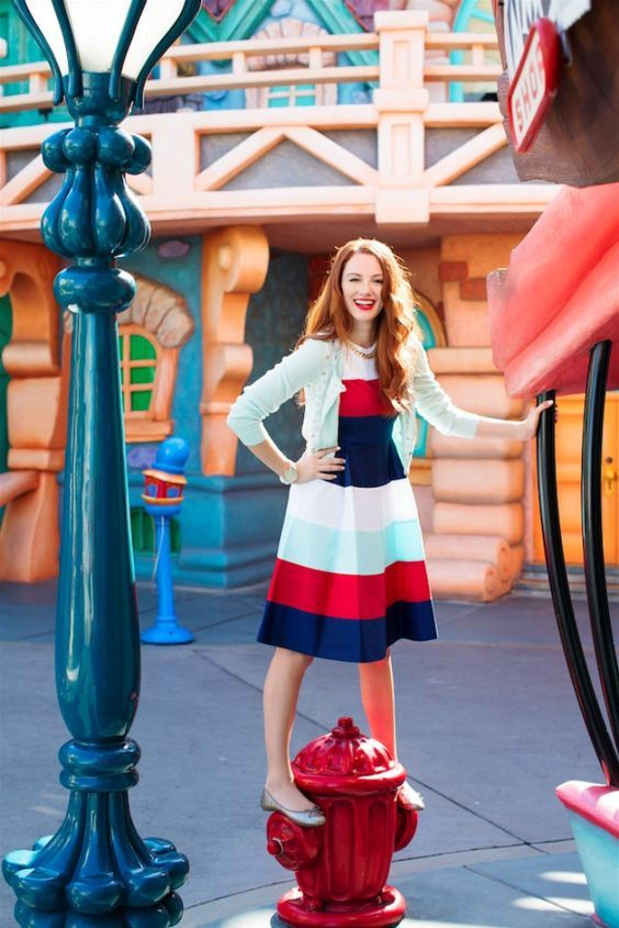 Disneyland and Two Stylish Moms Show Us How to Dress for Happiness