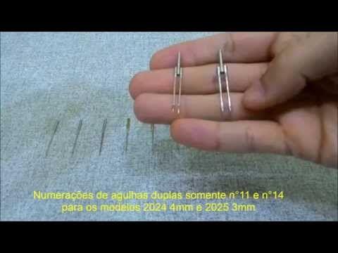 Dicas sobre agulhas de máquinas de costura domésticas - YouTube