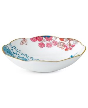 Wedgwood Dinnerware, Butterfly Bloom Rim Soup Bowl