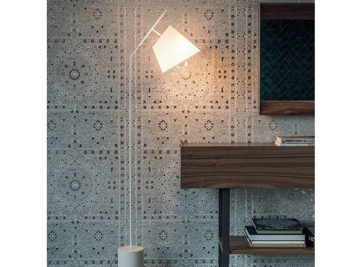 Lampadaire en acier KARIBÙ by Cattelan Italia design Oriano Favaretto