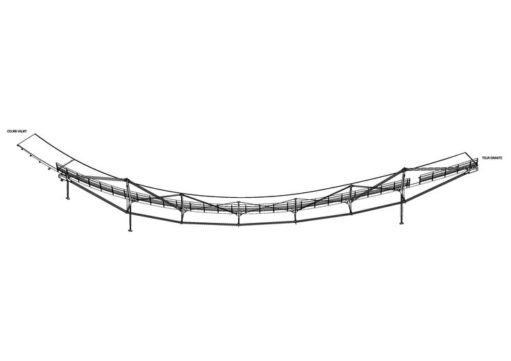 Footbridge Valmy - La Défense