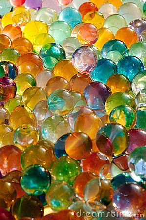Marbles I love how the light shines through this amazing example of #transparency and there is a subtle mixing of colors from the overlapping of one able with another