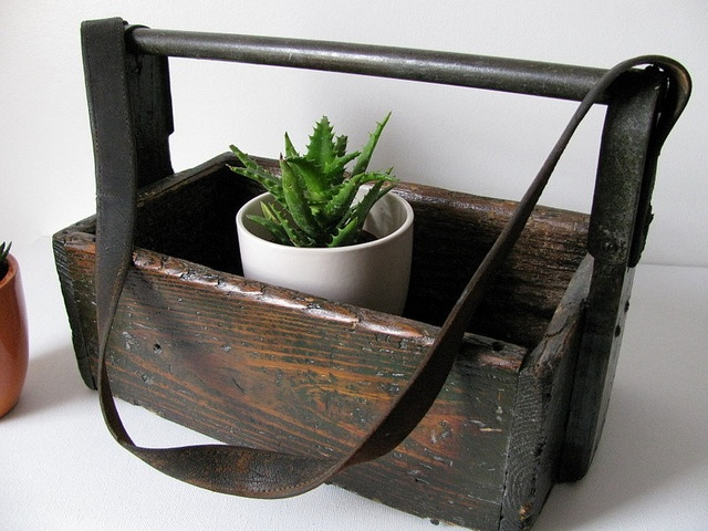 Stunning also getting ready to make one of these old wood tool boxes into a magazine holder