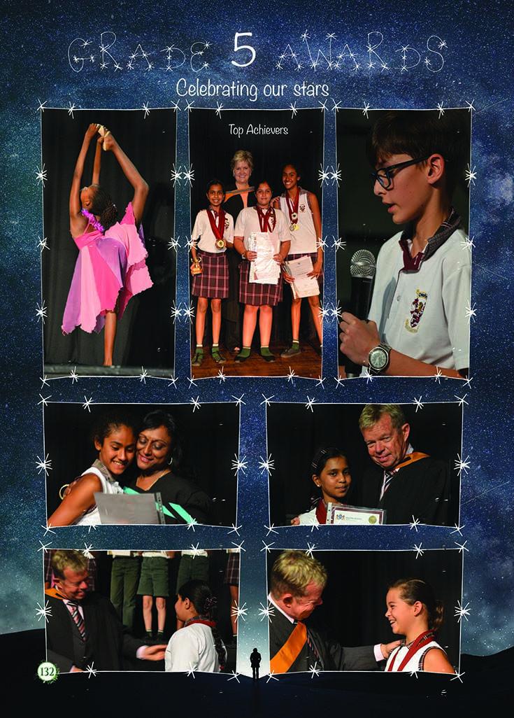 Yearbook Theme: Ecosystem - Awards (stars)