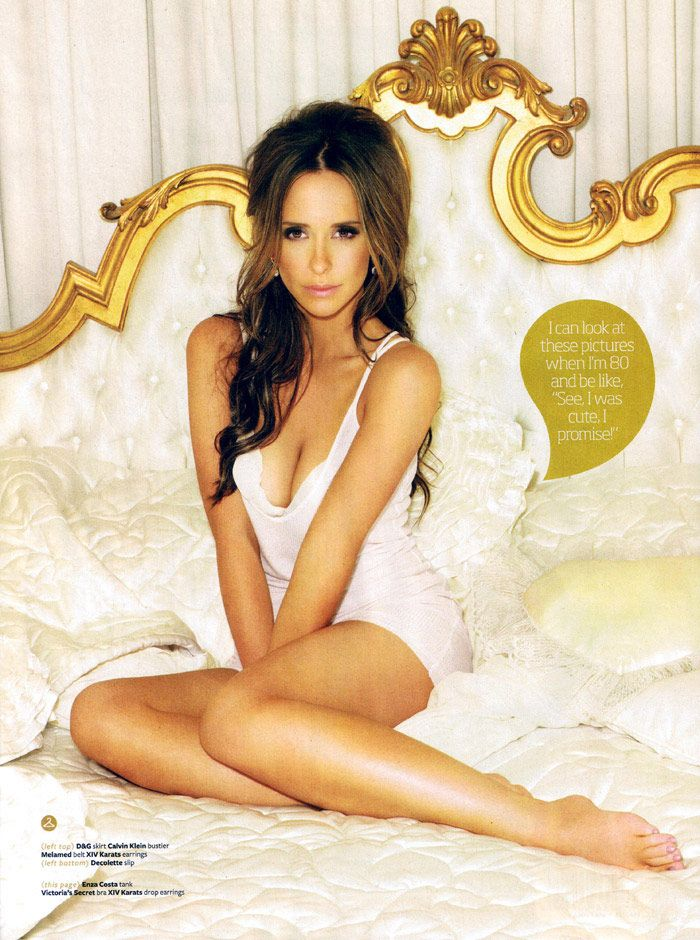 Jennifer Love Hewitt... this girl did not get a pretty start but looking at her now she is a knock out!!!