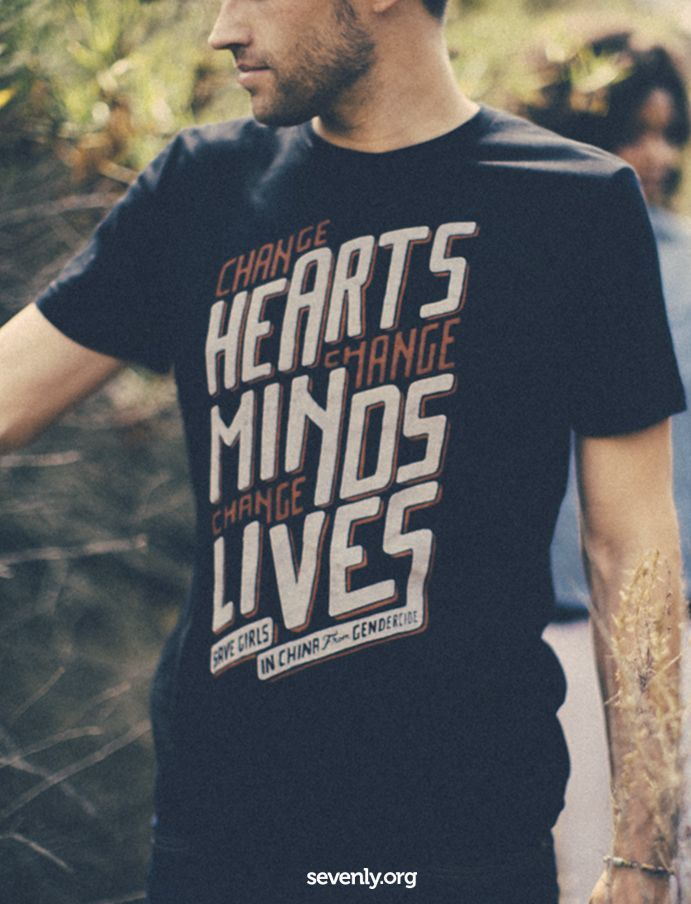 Change hearts. Change minds. Change lives. Save girls in China from gendercide.