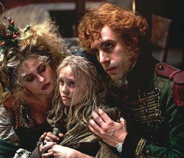 Helena Bonham Carter, Isabelle Allen, Sacha Baron Cohen in Les Miserables