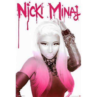 Amazon.com: (22x34) Nicki Minaj Pink Music Poster: Home & Kitchen