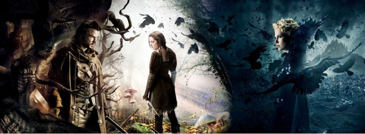 Snow white and the huntsman movie facebook cover