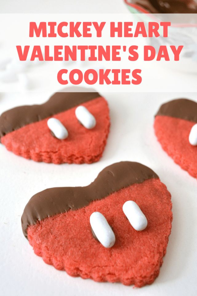 Valentine's Day can have a touch of magic with these adorable Mickey Heart Cookies.  Do you know a Mickey fan with a sweet tooth?  Then make sure you try out this delicious recipe!  Mickey Heart Valentine's Day Cookie Recipe