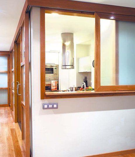 21 mejores im genes sobre ventana pasaplatos cocina en - Aislar paredes interiores ...