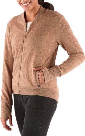 Mountain Hardwear Women's Sarafin Bomber Sweater Buck XS
