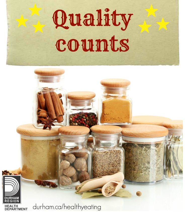 """March is Nutrition Month! The quality of your food choices count! Include a good breakfast, cook """"planned extras"""" for lunch the next day and try new herbs and spices in your meals."""