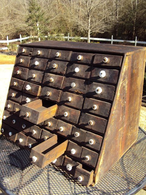 48 drawer seed cabinet