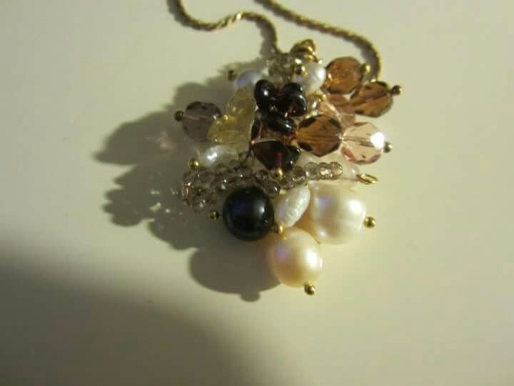 Fresa water Pearls And swarosky