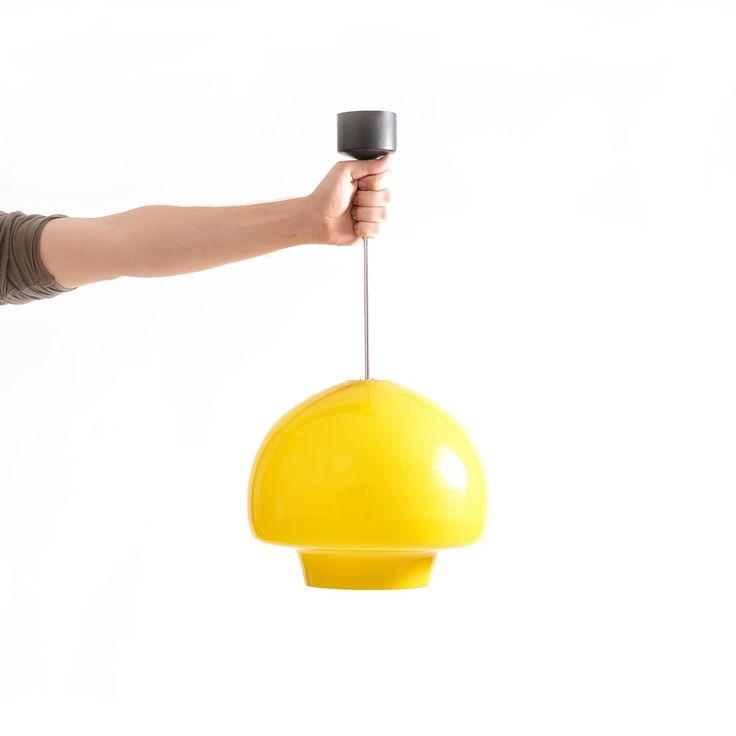 Ceiling light Napako 1141, one bulb type. Made in Czechoslovakia.