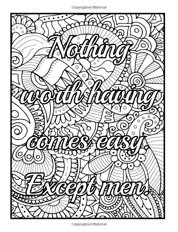 Be f cking awesome and color an adult Naughty coloring books for adults