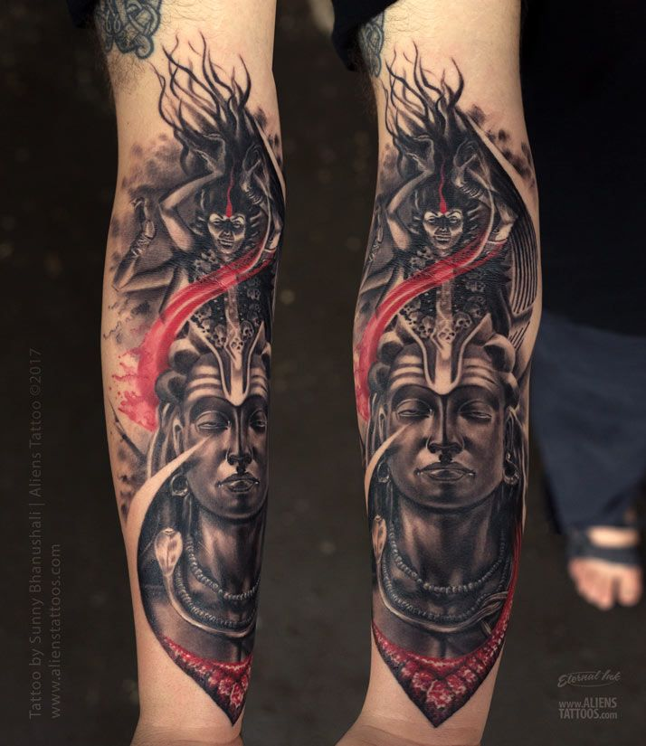 Tattoo Designs Mahadev: 49 Best Lord Shiva Tattoo Collection By Aliens Tattoo
