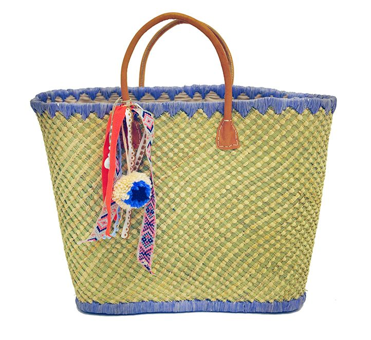 #AVANA #handmade #straw #beachbag  #summer #boho #inspiration @ www.cleogkatzeli.com  http://www.gkatzeli.com/product-category/beachwear/bags/straw-bags/