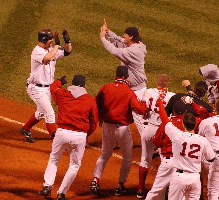 2003 Trot Nixons Walk Off Home Run Beats As In Game 3