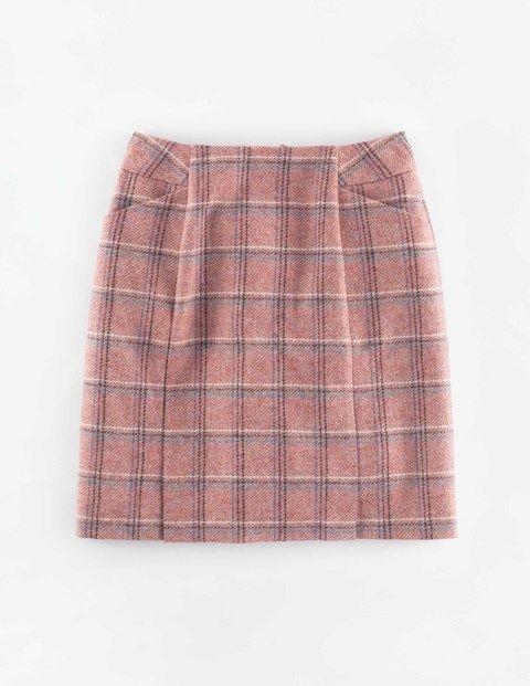 British Tweed Mini rose pink tweed