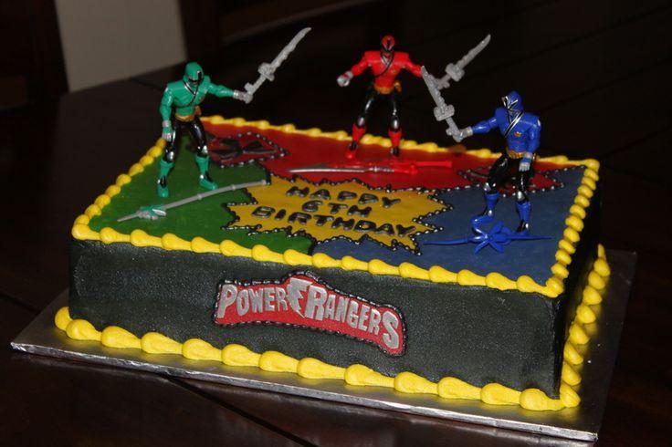 Power Rangers Birthday Cake Photos