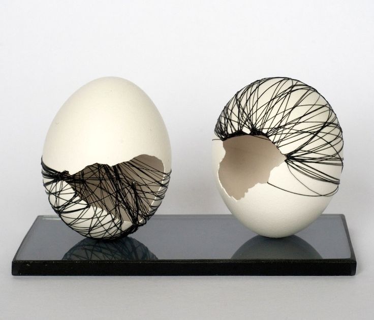 Anne Gates - Double eggblack (from Motivation series), 2011-2012