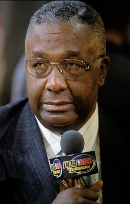 John Thompson the first African American coach to win a NCAA title. Georgetown Hoyas!