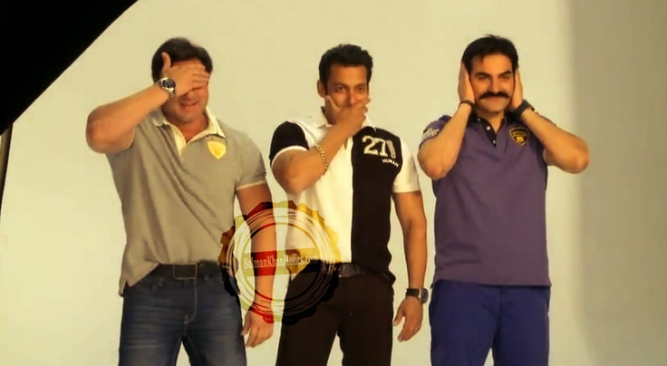 Salman Khan, Arbaaz and Sohail launching Being Human t-shirts in the Middle East: Khan Tiger, Sohail Launching, Sharma Khan, Khan Superstar, ️ ️Salman Khan ️ ️, Brother