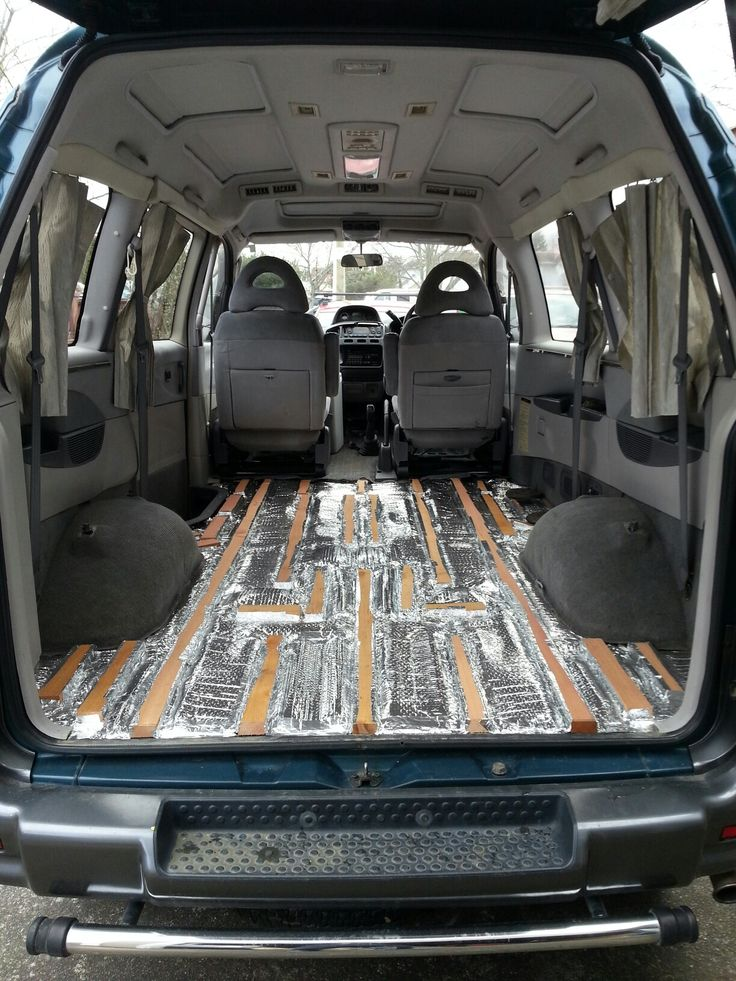 Van Camper Conversion >> Reflectix insulation under sub floor. | Van On The Loose. | Pinterest | Insulation, Van life and ...