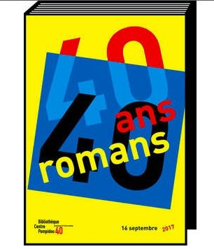 don't miss Évènement : le marathon romanesque du Centre Pompidou