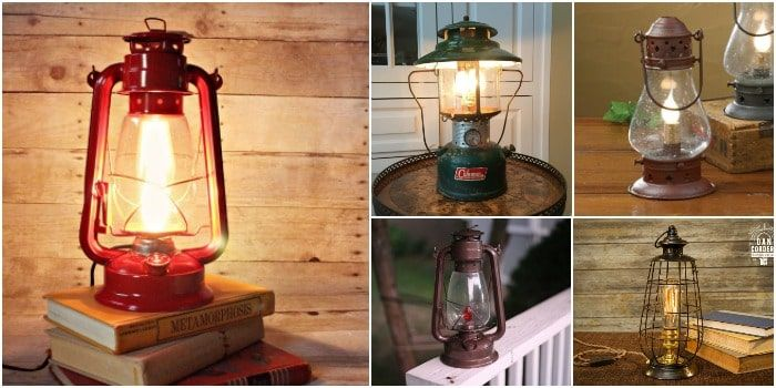 Cute 10 Lantern Table Lamps Vintage Selection #Antique #Bedside #Design #Edison #Farmhouse #Glass #Industrial #Kitchen #Metal #outdoor #simple #Steampunk #Vintage Add a vintage or farmhouse touch of decoration to your interior with lantern table lamps placed on your coffee table, your bedside, or outdoor of course.