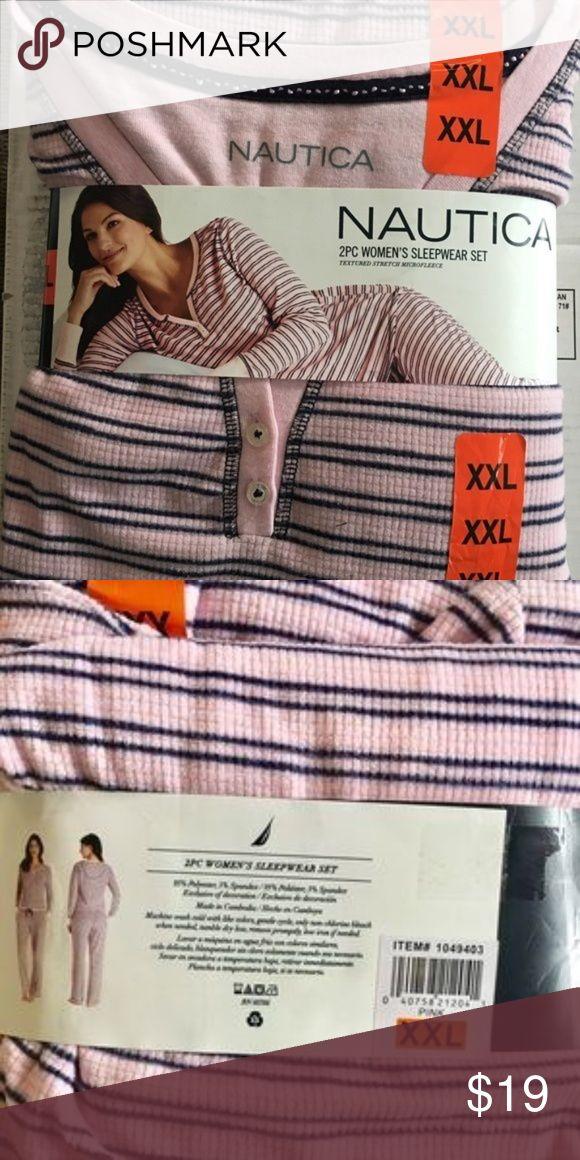 Nautica Women's Sleepwear Set Nice and comfortable pajamas for anytime wear Nautica Intimates & Sleepwear Pajamas
