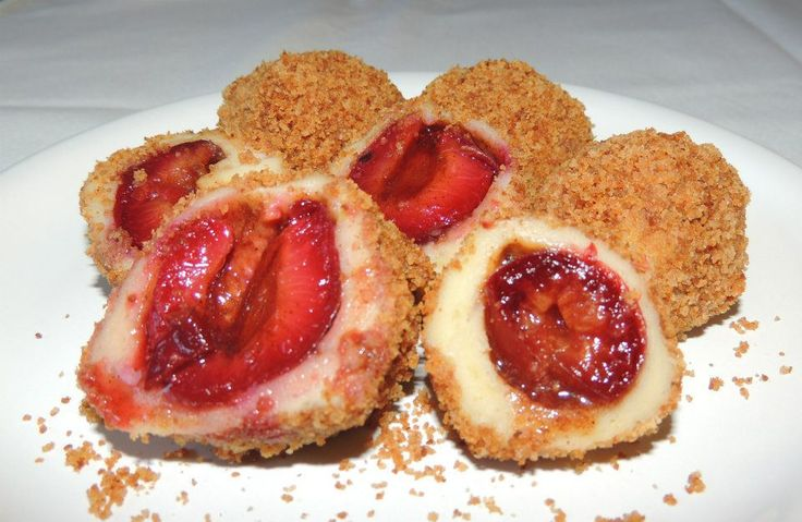 Găluște cu prune – plum dumplings