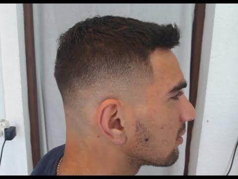 degradado hombre paso a paso, Degraded men's hair cut. - YouTube