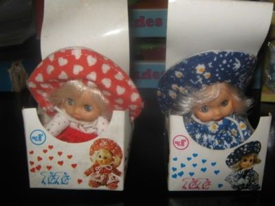 VINTAGE RARE LOT GREEK LITTLE DOLLS--TUTU-BY EL GRECO MIB (09/17/2011)