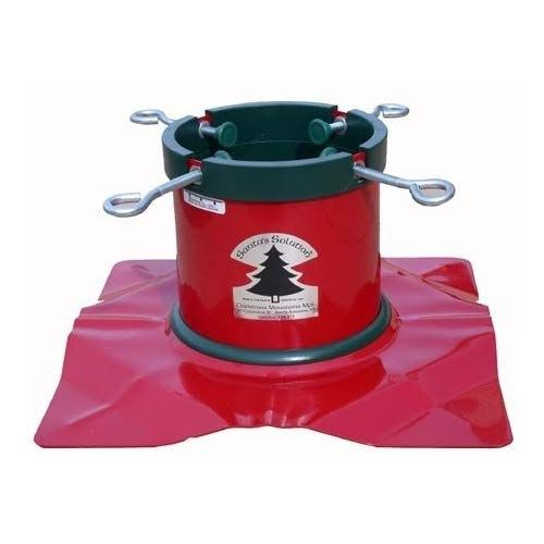 Santa S Solution Solid Steel Christmas Tree Stand For 8 Feet Trees Learn More At The Photo Link This Christmas Tree Stand Tree Stand Large Christmas Tree