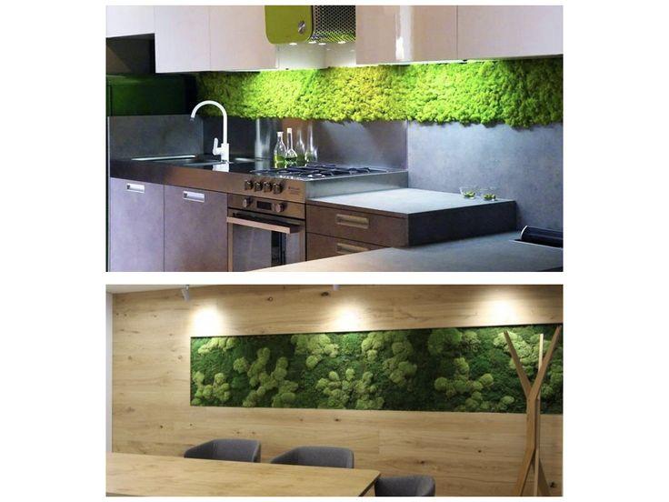 Trendy v interiéru – Mechové a květinové stěny – Designany