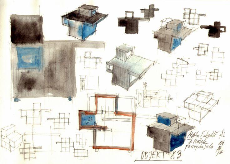 ecovastudesign / Modular Building - Rovinjsko Selo / Preliminary design, sketches