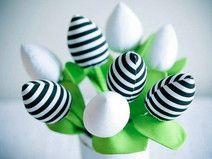 Bukiet bawełnianych tulipanów