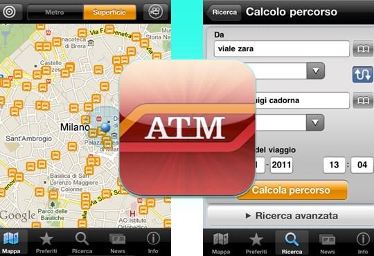L'app dell'atm ti permette di calcolare i percorsi e sapere il tempo d'attesa dei mezzi pubblici. Un servizio che rende ancora più facile muoversi con i mezzi pubblici. Fondamentale per chi non ha la macchina o non vuole usarla