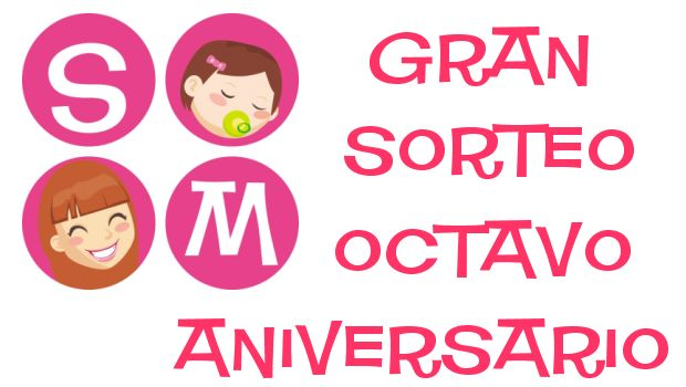 Sorteo internacional, octavo aniversario del blog Soy Mama
