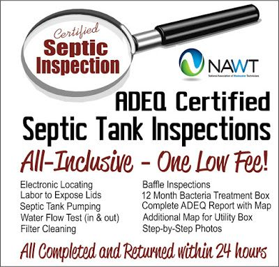 Septic Medic Pumping and Plumbing: What is an ADEQ Septic Inspection and who…