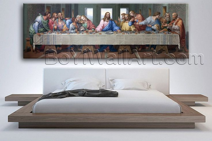 "Large Jesus Last Supper Other Impressionist Wall Art HD Giclee Printed On Canvas, Large religion Wall Art, Living Room, Roman Coffee. Large Jesus Last Supper Other Impressionist Wall Art HD Giclee Printed On Canvas Subject : religion Style : Impressionist Panels : 1 Detail Size : 60""x20""x1 Overall Size : 60""x20"" = 152cm x 51cm Medium : Giclee Print On Canvas Condition : Brand New Frames : Gallery wrapped Availability: *Important: This is a very large size wall art, and we are not able to..."