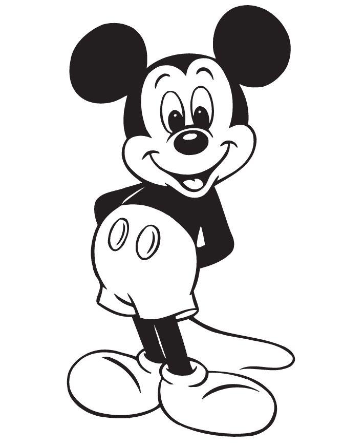 dibujos de mickey mouse para imprimir